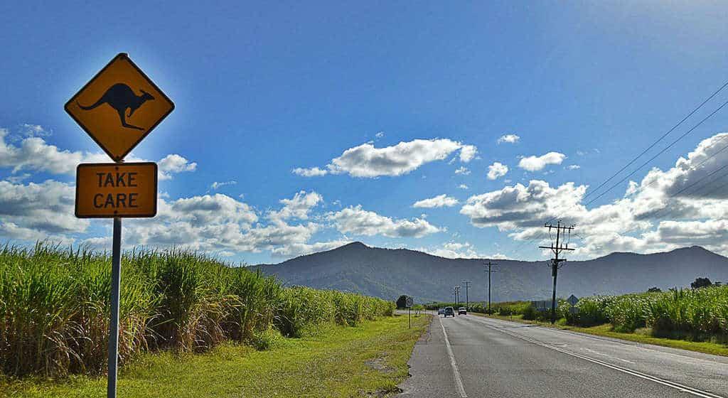 HIghway in Queensland, Australia