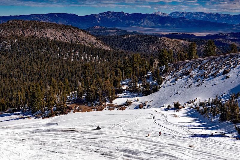 winter wonderland at Mammoth Mountain